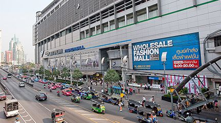 Bangkok Maps - Map Of Bangkok: Pratunam, Silom, Sukhumvit